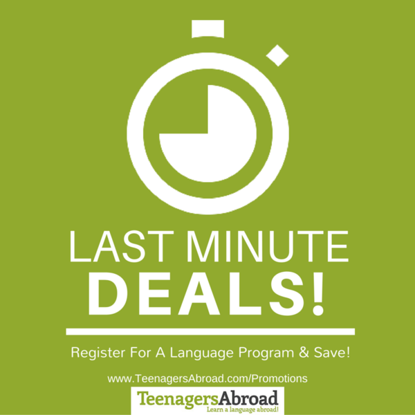 deals discounts and special offers for teenagers abroad programs teenagers abroad